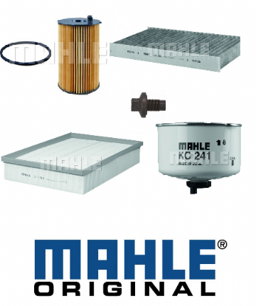 KIT101 Mahle Original Filter Kit Range Rover Sport 2.7 Tdv6 From VIN 7A (2007)